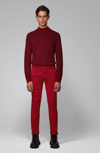 Rojos Talla L Slim Fit Pantalones Hugo Boss Hombre Baratos Hugo Boss Rebajas Mexico Hugobossmx Com Mx